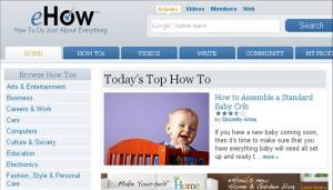 ehow post on crib assembly