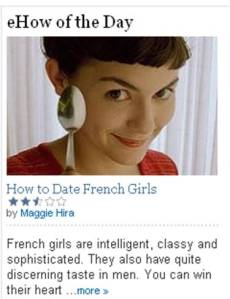 ehow how to date french girls